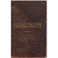 En Række prædiketexter, 1882