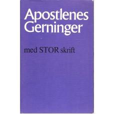 Apostlenes gerninger m. STOR skrift