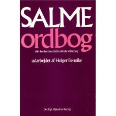 Salmeordbog eller korkondans til den danske salmbog