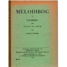 Melodibog til salmebog for skole og hjem