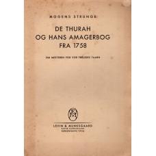 De Thurah og hans Amagerbog fra 1758.