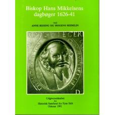 Biskop Hans Mikkelsens dagbøger 1626-41