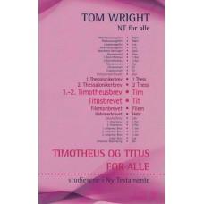 Timotheus og Titus for alle (ny bog) NT for alle