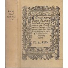Ludwig Dietz' Salmebog 1536 (som ny)