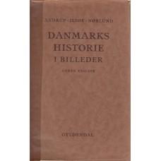 Danmarks historie - i billeder  og teksthæfte I. 2 bind